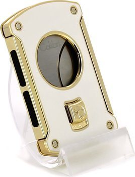 Colibri 'Slice' wit/ goud 24mm