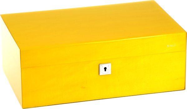 Siglo Humidor M maat 75 geel