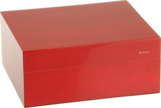 Siglo Humidor S maat 50 rood