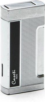 Caseti Aansteker Verchroomd & Zwart Lak (Caseti Homme Aansteker Chrome / Zwart)