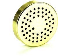 Luchtbevochtigingssysteem met luchtbevochtigingsspons rond goud