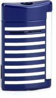ST Dupont Minijet 10105 - Marinekleurige blauwe witte strepen