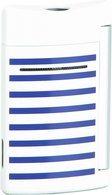 ST Dupont Minijet 10106 - Marinekleurige blauwe strepen