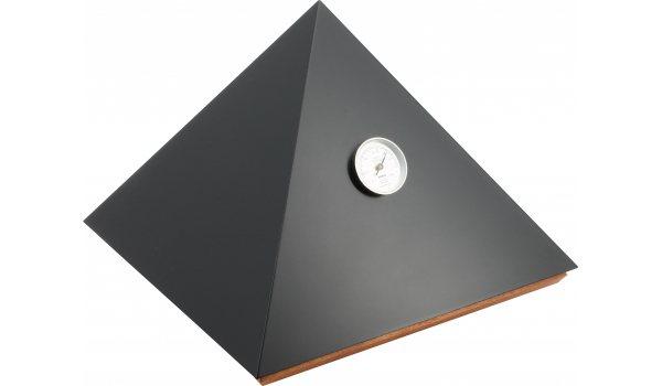 adorini Humidor Piramide Deluxe M Zwart