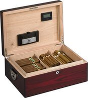 Diamante Kroon De Oxford Humidor voor 160 Sigaren Rosewood Glans