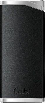 Colibri Delta Aansteker Zwart / Chrome