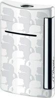Aansteker, wit/ chrome afwerking, S.T. Dupont MiniJet KL