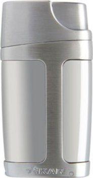 Xikar Element Double Jet aansteker - zilver