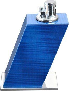 Elie Bleu Tafelaansteker Geverfd Sycamore Blauw