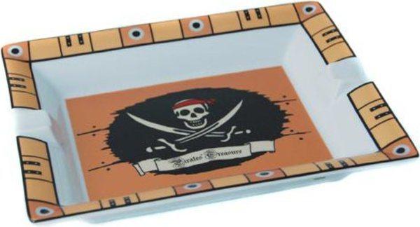 Elie Bleu Porseleinen Asbak Piratenschat