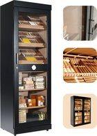 adorini Roma (zwart) elektronische humidor kabinetkast