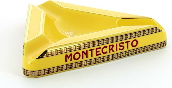 Montecristo Ashtray driehoekig