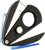 Xikar 2 dubbel lemmet sigarenknipper - Xi2 zwart